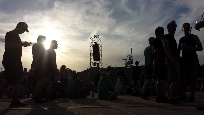 Tanzen Open Air im Sonnenschein! Gibt es was Schöneres?