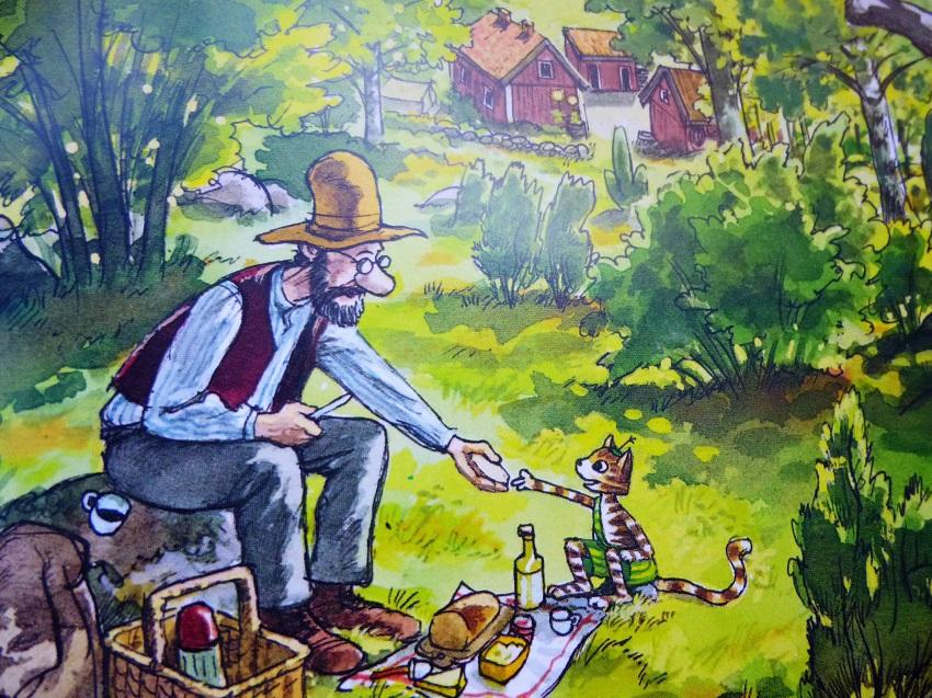 Was gibt es Schöneres als ein Picknick in Wald und Sonne mit einem lieben Begleiter?