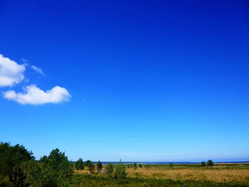 The sky is the limit! Seht Ihr da hinten die Ostsee? Traumhaft!