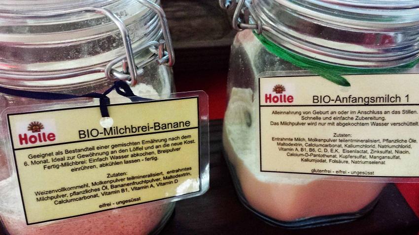 Toller Service: Milchbrei für die Kleinsten. Und zwar von einem der besten Biounternehmen. Große Klasse!