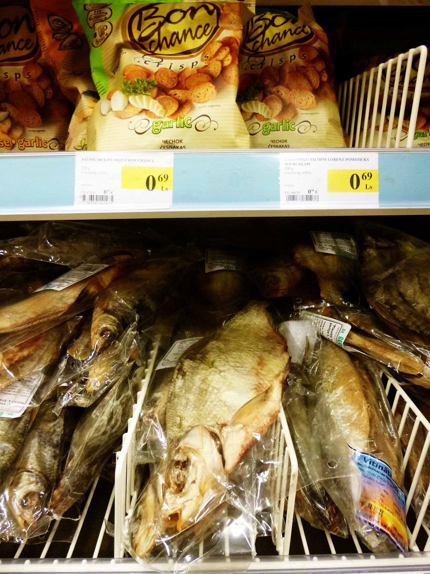 Fisch als Snack? Hm, also da kann ich leider nicht mehr mit.