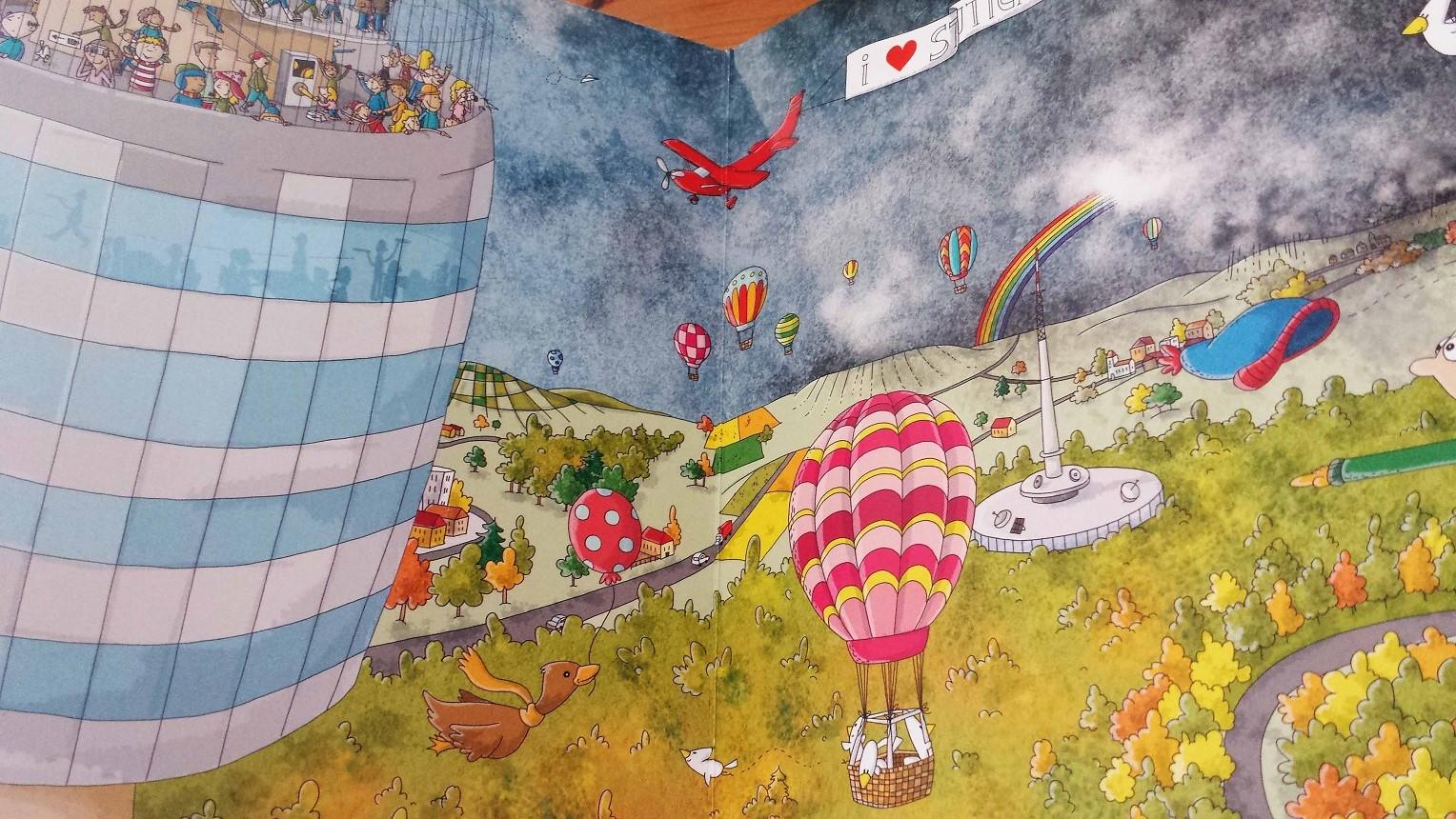 Der Blick aus den Ballons muss atemberaubend sein...wow!