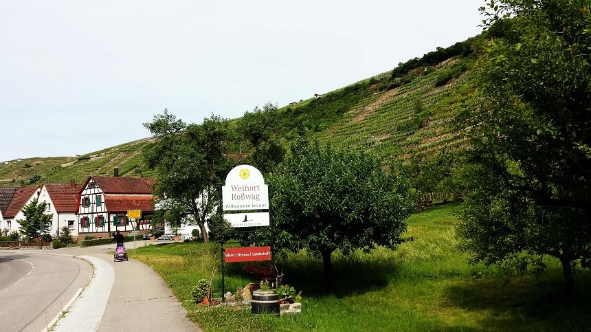 Wir befinden uns an der Württemberger Weinstraße und bekommen gleich Lust auf eine Wein-Traubensaft-Probe...