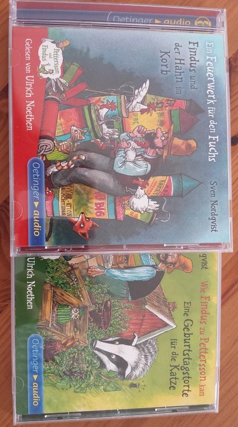 Nochmaaaaal!!! Manche Geschichten von Petersson und Findus kann sogar ich schon mitsprechen...