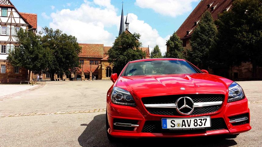 Mercedes Benz bot uns für den Roadtrip eine Erfahrung der besonderen Art: Das Fahrgefühl im SLK 250, GLA 250 und der E-Klasse 200.